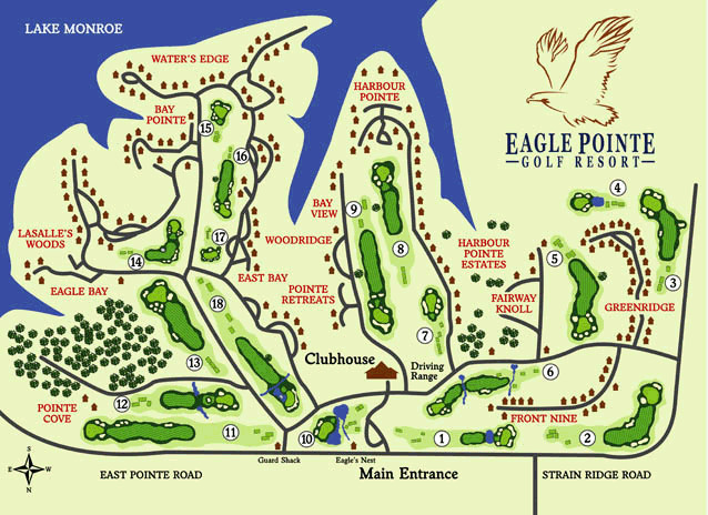 Eagle Pointe Map